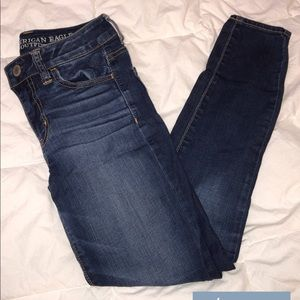 American Eagle High Rise Jegging Super Stretch